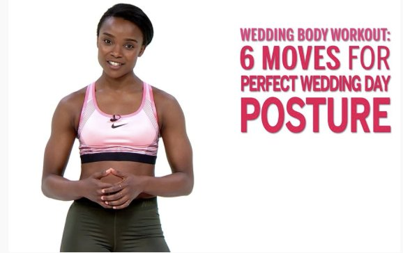 6 exercises for perfect wedding day posture: https://t.co/4b20TaSpiU