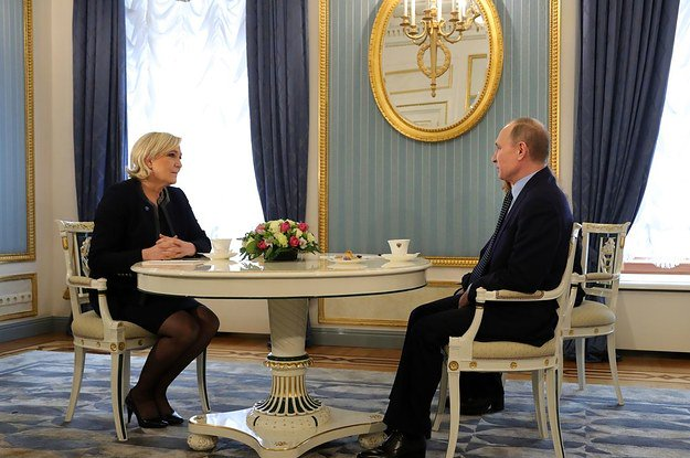 This is what happened when French presidential candidate Marine Le Pen went to Moscow https://t.co/i8noR4kITq