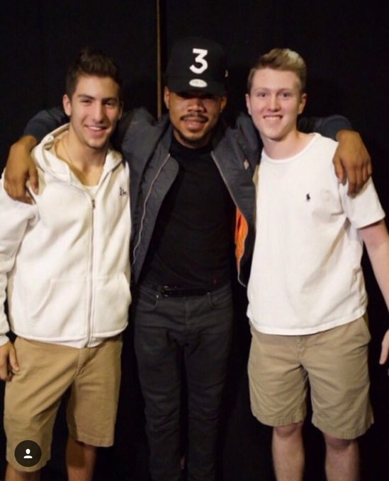 Happy birthday patcchhhh! Love you fam Here\s a picture with our boy CHANCE THE RAPPER