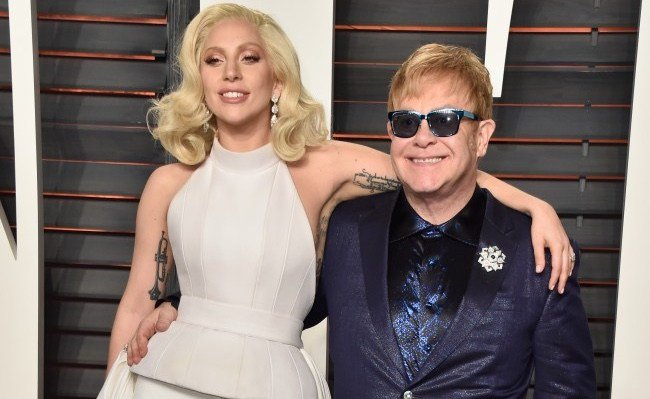 WATCH Lady Gaga And Stevie Wonder Sing Happy Birthday To Elton John