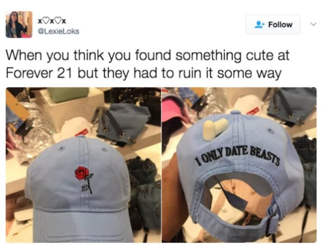 18 things you'll understand if you've ever shopped at Forever 21 https://t.co/f1lhSJfCzt