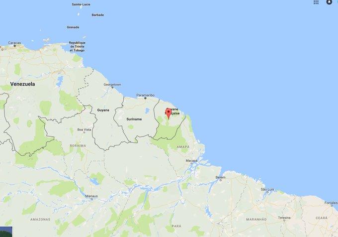 'L'île' de Guyane: la bourde d'@EmmanuelMacron  #Guyane #Presidentielle2017  https://t.co/8MXcEgHwNJ