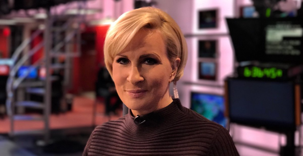 Welcome back, Mika! Now viewers know why the smart set call our show Morning Mika.  @morningmika