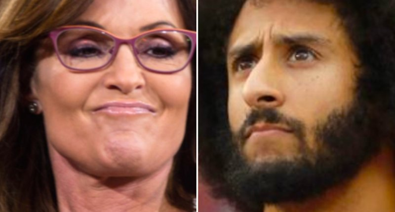 ICYMI: Sarah Palin gets roasted online for complaining about Colin Kaepernick's donation to Meals on Wheels https://t.co/h5OtkwsoFk