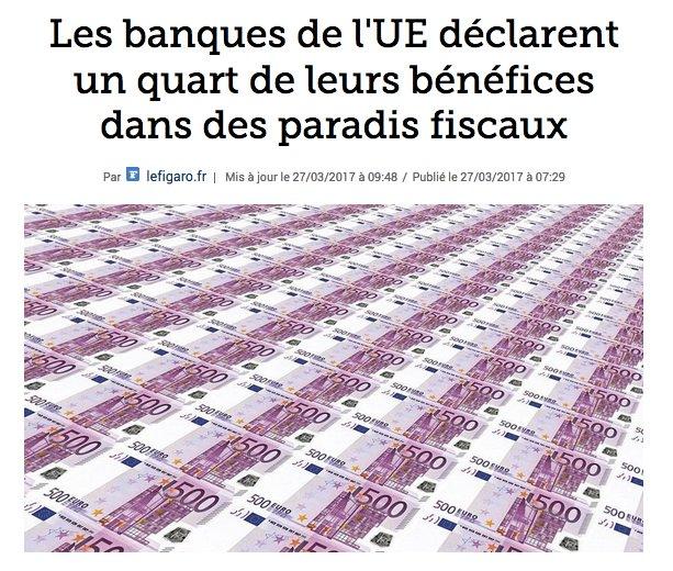 Bravo à @BNPParibas @GroupeBPCE @CreditAgricole @Credit_Mut  c@SocieteGeneralehampionnes de l'  c#EvasionFiscaleontre l'  !#intergeneral