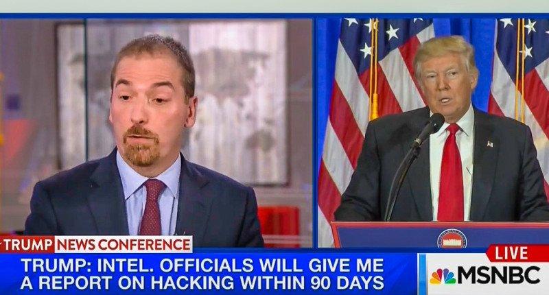 Trump presser rattles Chuck Todd: 'I am struck at how normal crazy looked' https://t.co/IY15gO44tN