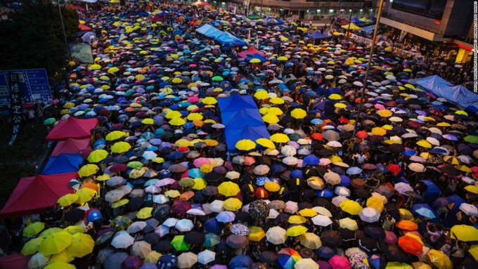 A number of Hong Kong pro-democracy protesters claim they are facing charges over the 2014 'Umbrella Movement' https://t.co/SoEPnF5szE