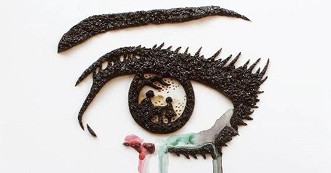 커피 찌꺼기로 그린 작품...명작이 따로 없네 https://t.co/AFvPXmQEZN