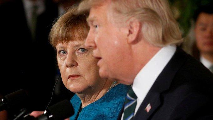 #OTAN : la Maison-Blanche dément la remise d'une facture de 350 milliards d'euros à #Merkel #Trump  https://t.co/YNqc6CSVo5