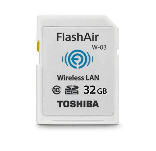 #free #digital #win #usb #music #giveaway #np Toshiba 32GB FlashAir III Wireless SD Memory Card, White,(PFW032U-1CCW) #rt