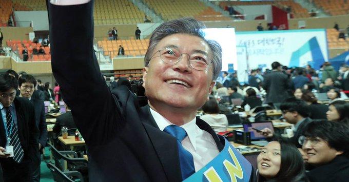 문재인, '민주주의 성지' 광주에서 60.2% 득표 '압승'  2위 싸움은 그야말로 박빙. 안희정 20%, 이재명 19.4%  https://t.co/sYyBCc29mo