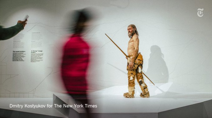 Ötzi was killed around 3,300 BC, but one inspector has managed to piece together a detailed picture of how he died https://t.co/x7Ef9iRGxX
