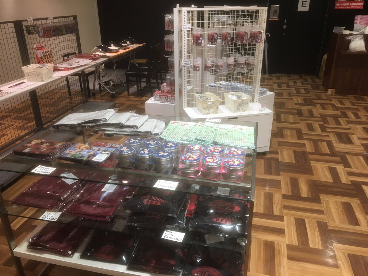 『ALL OUT!! THEキャラSHOP in IKEBUKURO』いよいよ明日から開催!準備中の様子を少しだけお見せ
