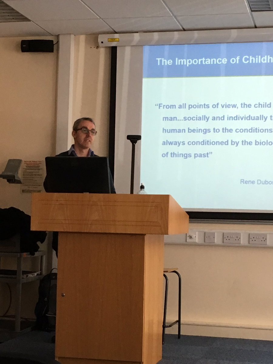 test Twitter Media - Cathal McCrory of @tilda_tcd presenting his research on effects of childhood adversity on health in later life https://t.co/7wKOt5glG6