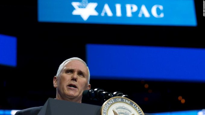 Pence to pro-Israel group: US 'giving serious consideration' to embassy move https://t.co/lfesjRfb93