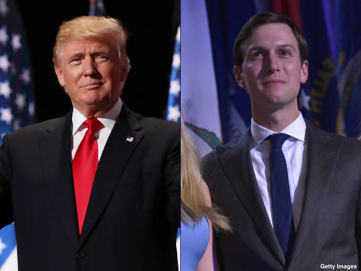 Pres. Trump to announce new White House Office of American Innovation run by son-in-law Jared Kushner. https://t.co/Dhr13kyTkT
