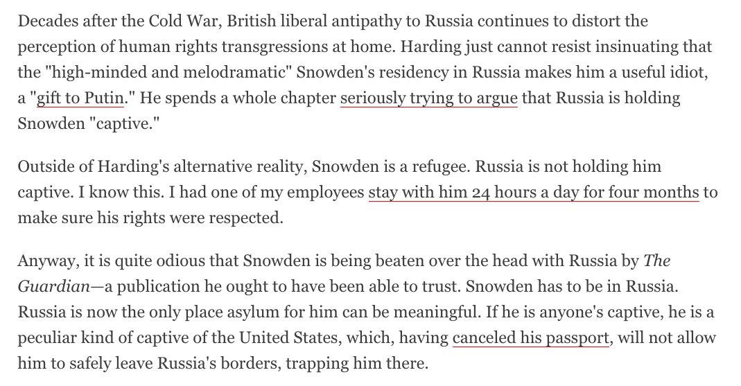 WikiLeaks' editor Julian Assange on Russia & Snowden https://t.co/efUHoz3zSf
