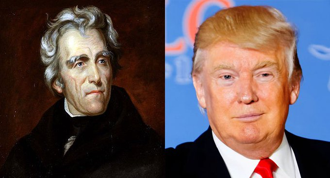 Donald Trump is really like Andrew Jackson in this one way https://t.co/Z1HRKBq7KR