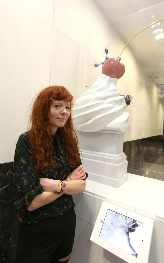 test Twitter Media - Poet Heather Phillipson's sculpture THE END to be installed in Trafalgar Sq in 2020 @h_phillipson  https://t.co/pfQXaAuF5l https://t.co/piDWWwN21Y