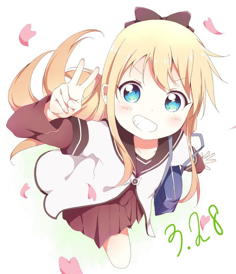 キョコキョコトシノーキュピーン☆京子が一番!京子が最高!もう何回目の14歳だよwwHAPPY BIRTHDAY!#ゆる