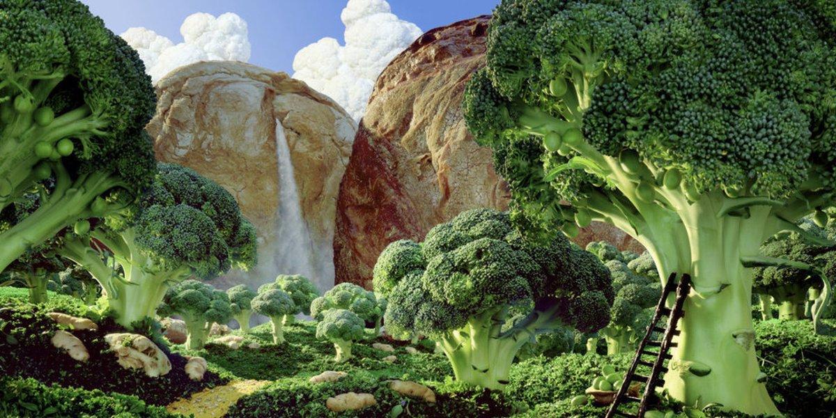 음식으로 만든 상상의 세계 '푸드스케이프'를 보라(사진) https://t.co/Ee5DmoCz78