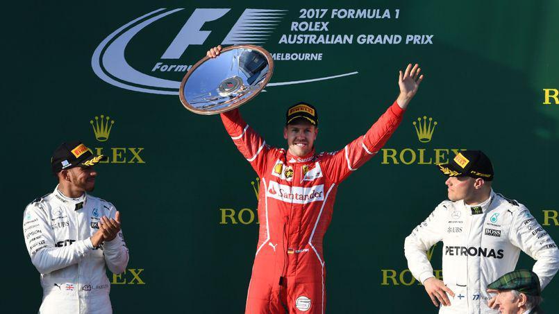 .@Ferrari au sommet en Bourse après la victoire de Sebastian Vettel au Grand Prix d'Australie https://t.co/cV9xT08cTv