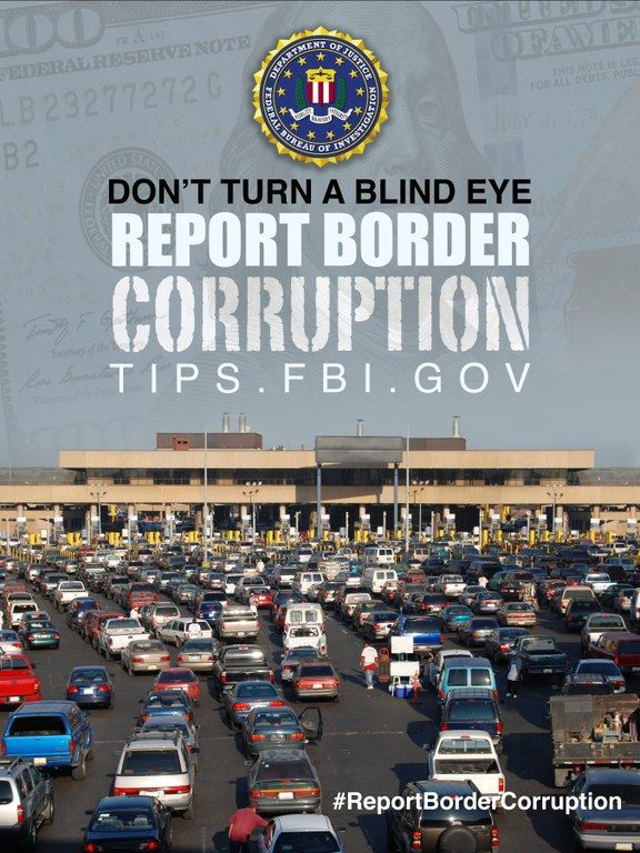 #ICYMI Read about the #FBI campaign to combat #bordercorruption #AskFBI