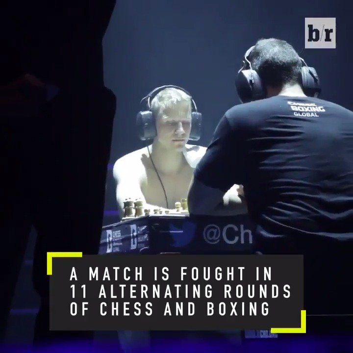 A sport that combines brains with brawn...That's what @ChessBoxing is all about