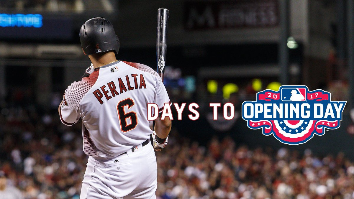 Lean back and relax #DbacksOpeningDay is 6 days away.