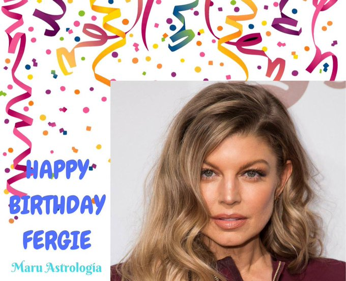 HAPPY BIRTHDAY FERGIE!!!!
