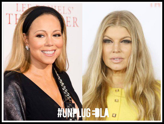 Happy Birthday Fergie & Mariah