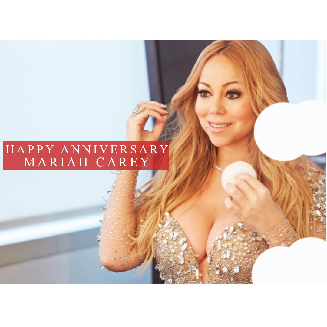 Happy Anniversary @MariahCarey ‼���� #beEPIC https://t.co/YiqxCsUFbC