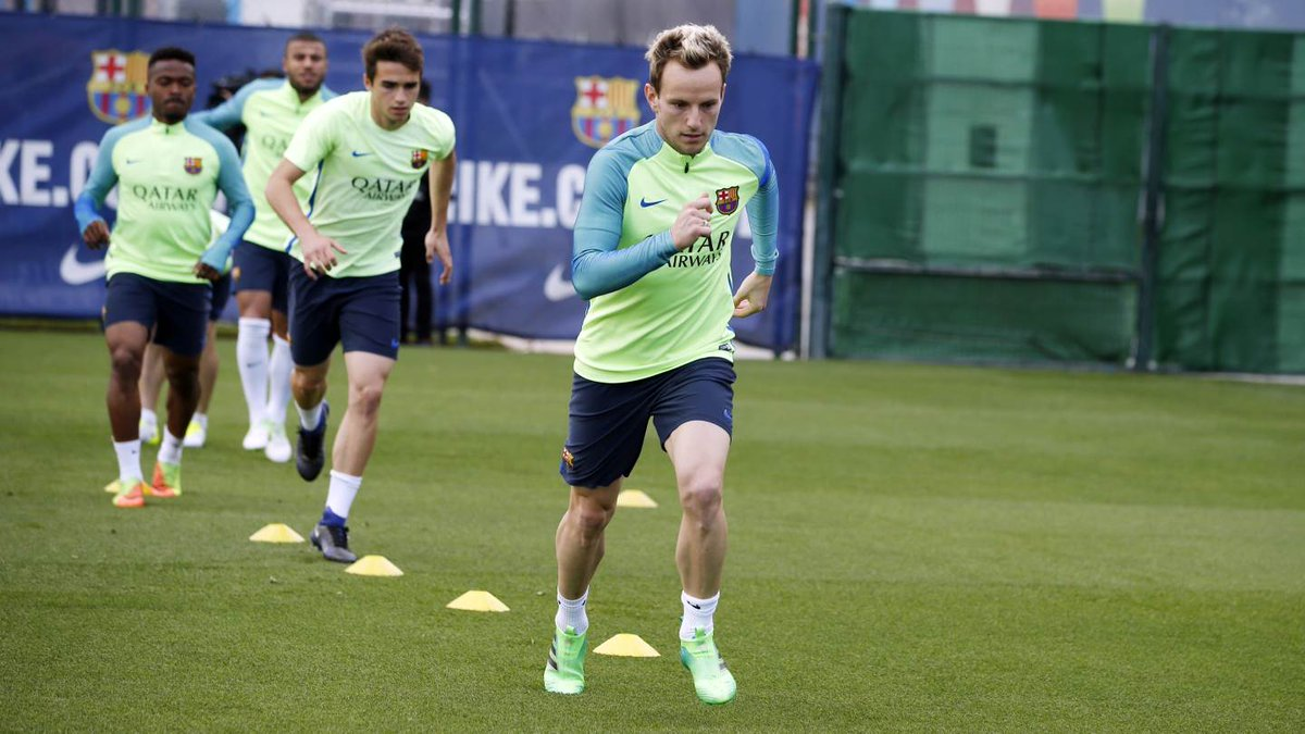 🎥 Así ha sido el entrenamiento de este lunes, ya con Mascherano y Rakitic #ForçaBarça