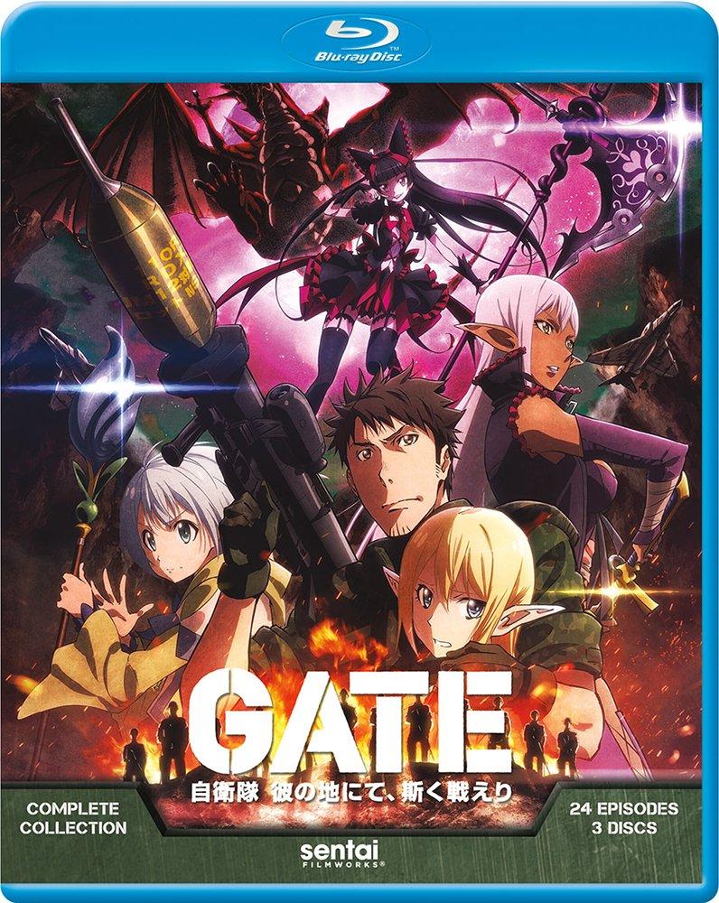 米国盤Blu-ray新作情報:東京銀座に突如出現した「門」の向こうの異世界で戦う自衛隊の活躍を描いたファンタジーアニメ!