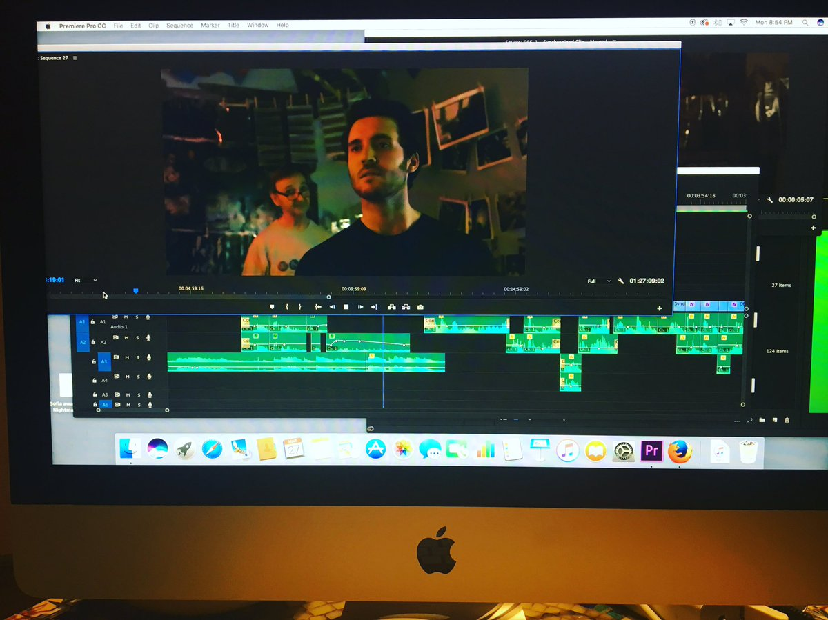 We're getting closer to locking Picture! Can't wait! #premierepro #adobe #neatvideo #pentimentofilm #featurefilm #BK https://t.co/jL31rGGpyF