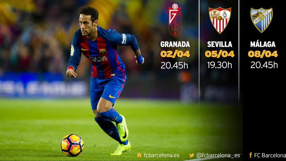 ✈️ Granada 🏠 Sevilla ✈️ MálagaTriple enfrentamiento andaluz en #LaLiga