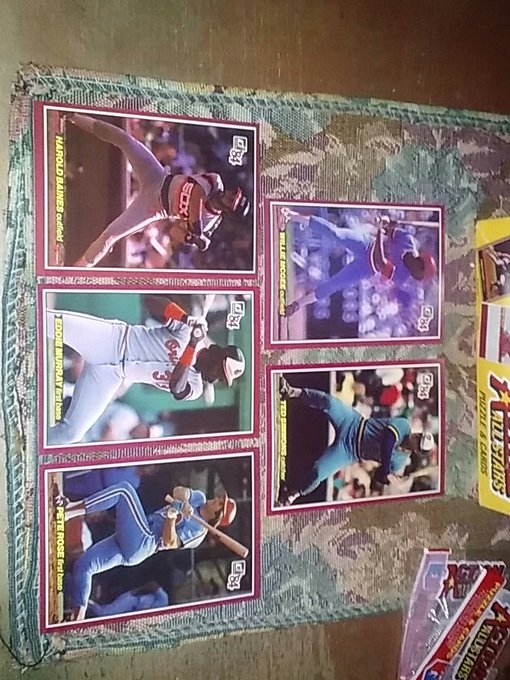 pack 2 happy birthday Harold Baines a nice Murray Pete Rose McGee and Simmons not too shabby