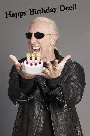 Happy Birthday Dee Snider! 62!