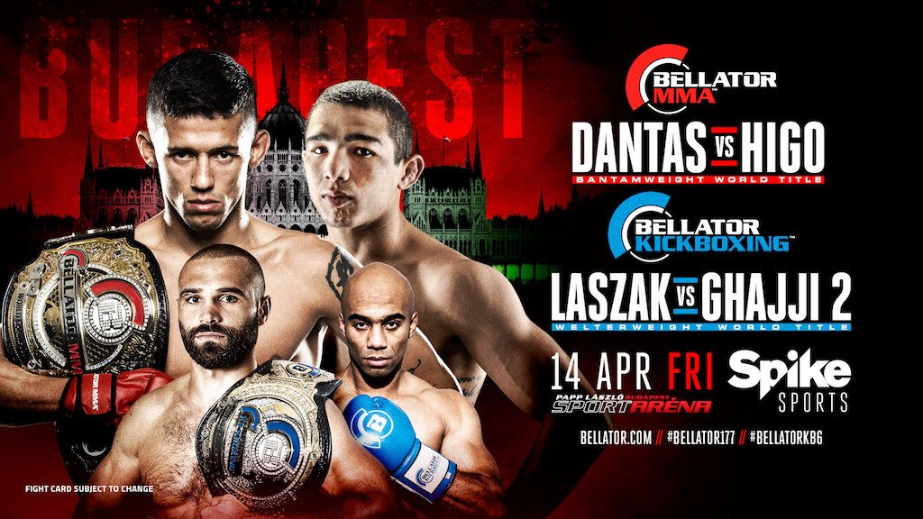 Darrion Caldwell out and @LeandroHigoMMA in for Bellator 177 title fight in Budapest on 4/14 https://t.co/AKOTUbMvaT https://t.co/kWISIZhZvL