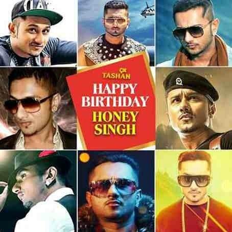 Very Happy Birthday to Yo Yo  Honey Singh