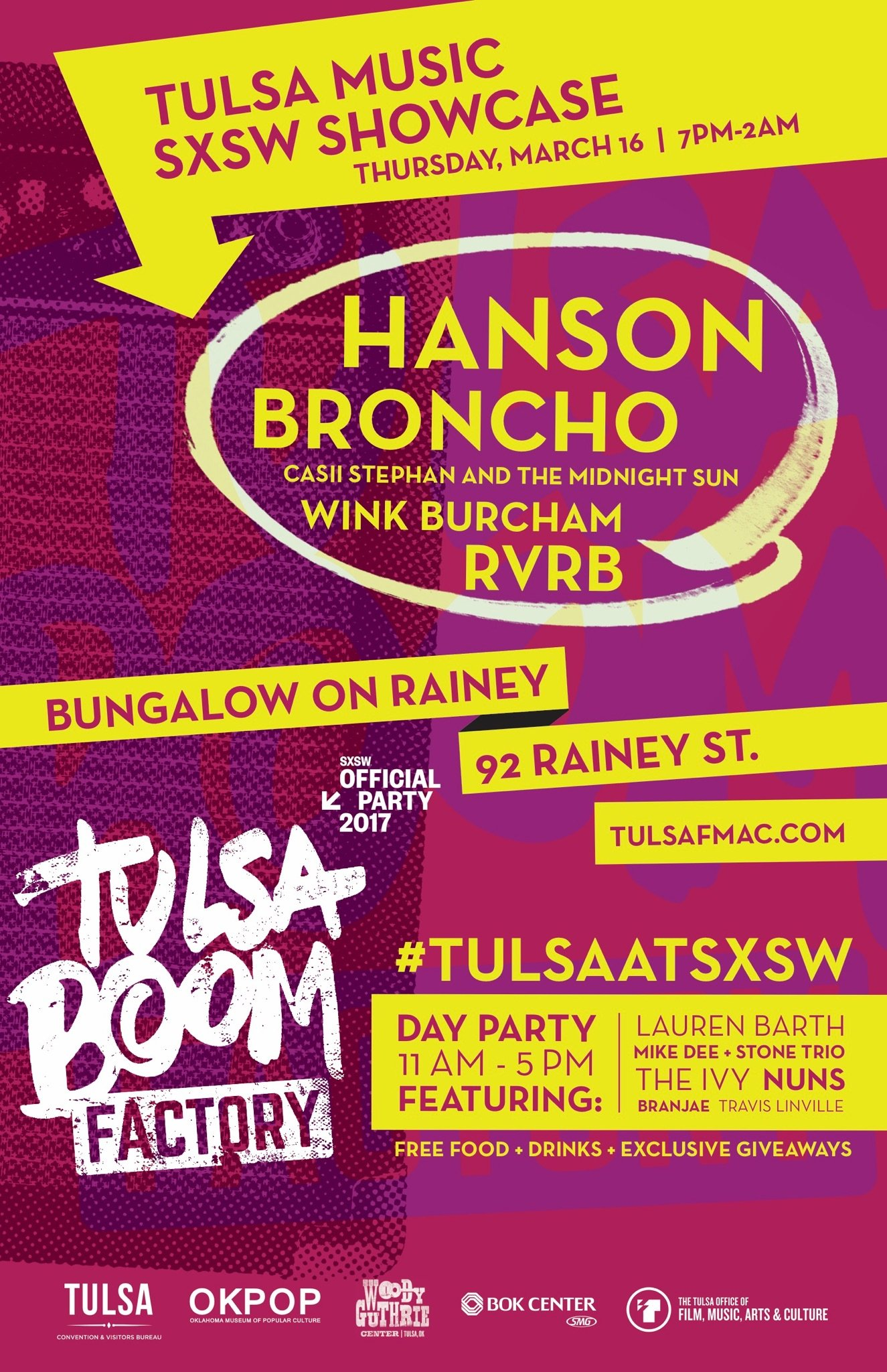 If you're at SXSW, join us at Bungalow on Rainey St tonight! https://t.co/W065iP36YX