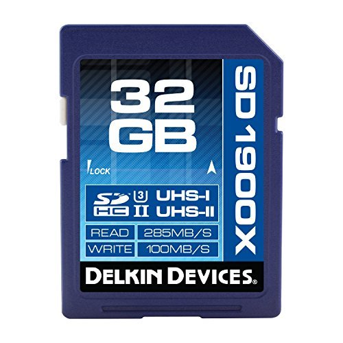 #free #digital #win #usb #music #giveaway #np Delkin 32GB SDHC 1900X UHS-I (U3) Memory Card (DDSD190032GB) #rt