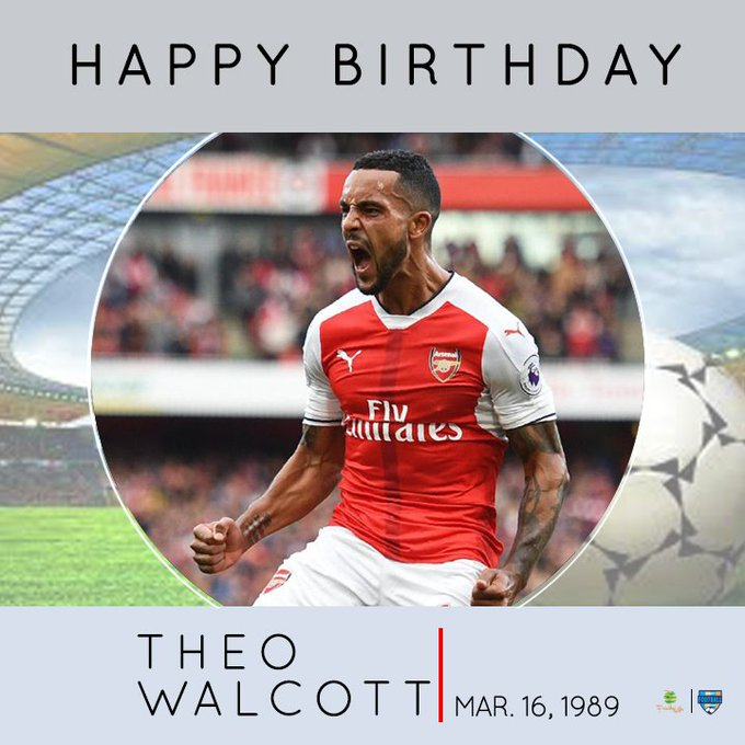 Happy Birthday Theo Walcott.
