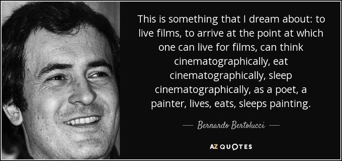 Happy birthday to Bernardo Bertolucci!
