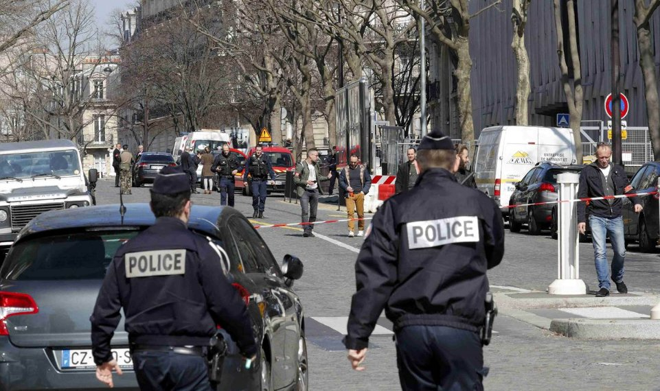 JUST IN: Letter Bomb with firework explodes at Paris office of IMF, World Bank