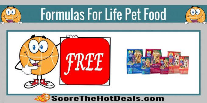 **FREE** Formulas for Life Pet Food Sample!free freebies freebie freesample