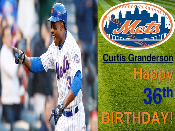 Happy Birthday, Curtis Granderson! |