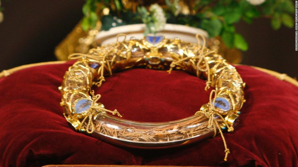 The power of the Holy Grail, the crown of thorns, and other Christian relics