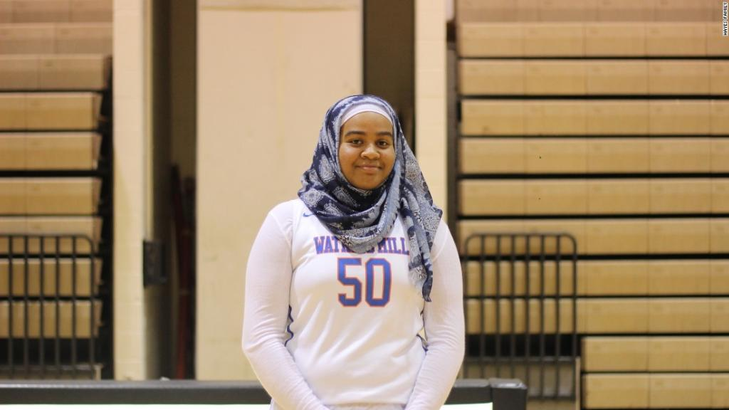 Hijab rule keeps junior from playing in regional title basketball game