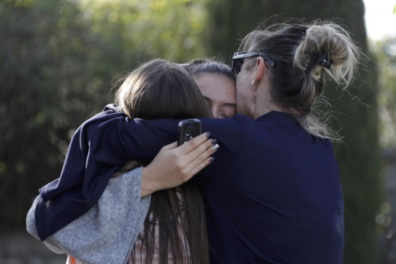 Student 'fascinated by firearms' wounds four in French high school shooting